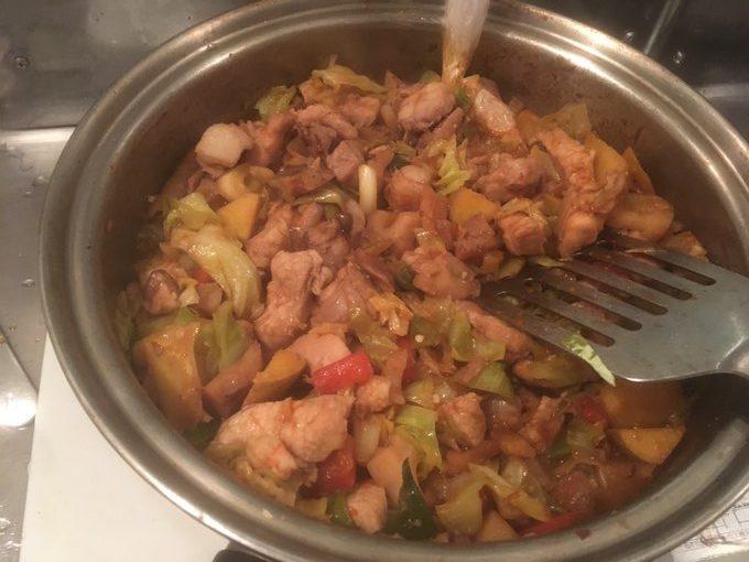 汁なし火鍋、麻辣香鍋